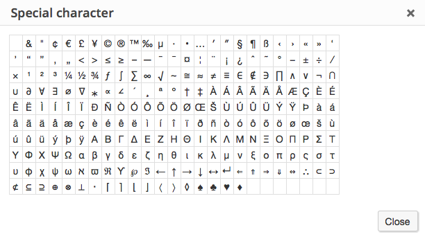 visualeditor-specialcharacters