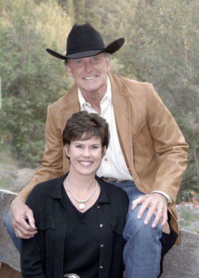 Governor Butch Otter and Lori Otter