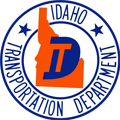 Idaho Transportation Department logo